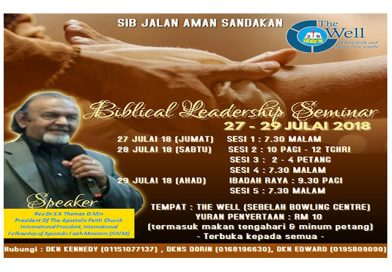 Biblical Leadership Seminar