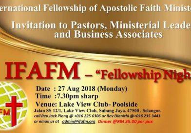 IFAFM Fellowship Night